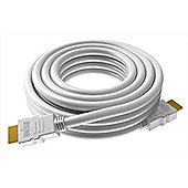 Vision TC 2MHDMI 2m HDMI White cable to