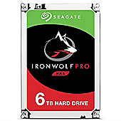 Seagate IronWolf Pro 6TB 256MB 3.5IN SATA 6GB/s NAS HDD