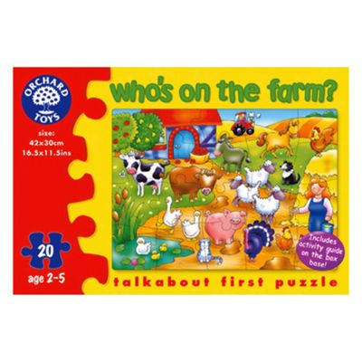 Orchard Toys Who's on The Farm Educational Game