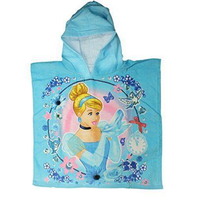 Disney Cinderella 90% cotton 10% polyester. Poncho
