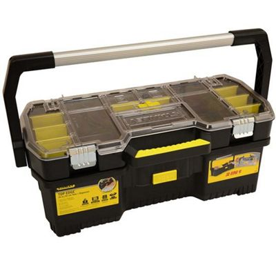 Stanley 1-97-514 Stanley 197514 24-inch Toolbox With Tote Tray Organiser