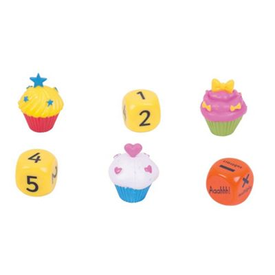 ZooBooKoo Cup Cake Dice High Score Game - Level 1 - Mental Mathematics Games
