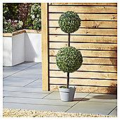 Garden XP Artificial Solar Two Ball Tree, 90cm