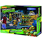 Teenage Mutant Ninja - Turtles Papercraft Lair Deluxe Pack - Toys/Games