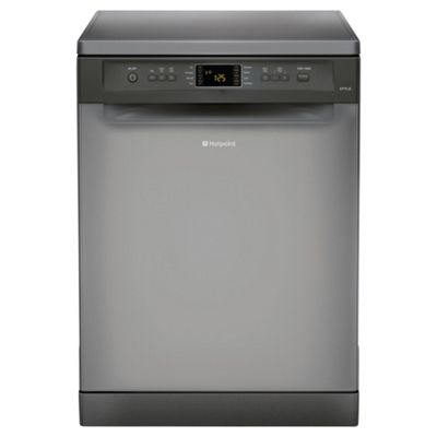 Hotpoint FDYF11011G Fullsize Dishwasher, A Energy Rating, Graphite