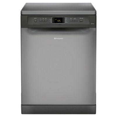 Hotpoint FDYF11011G Fullsize Dishwasher, A Energy Rating, Graphite