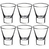 Bormioli Rocco Ypsilon Water Drinking Whisky Tumbler Glasses 340ml - Pack of 6