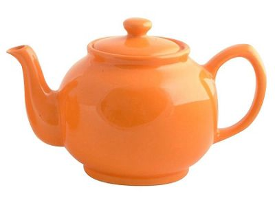 Price & Kensington Brights Two-Cup Teapot Orange