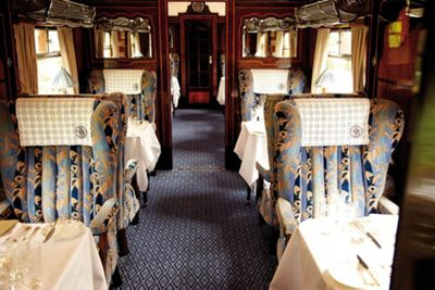 Steam Hauled Golden Age of Travel on the British Pullman for Two