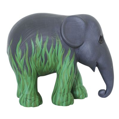 Elephant Parade Swampy Jane by Joss Stone 15cm Collectible Artpiece
