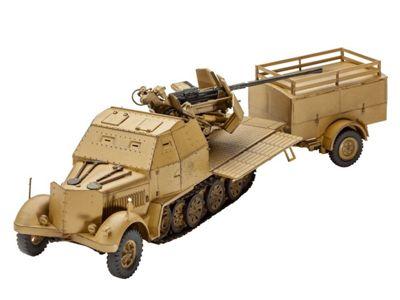 Sd.Kfz. 7/2 1:72 Scale Model Kit - Hobbies