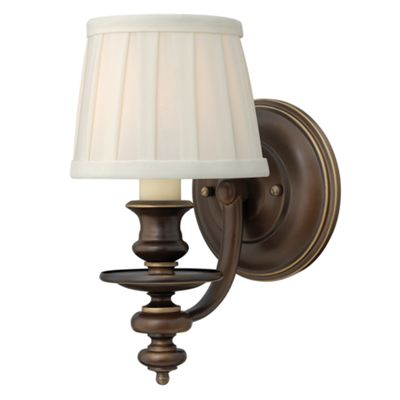 Royal Bronze Wall Light - 1 x 60W E14