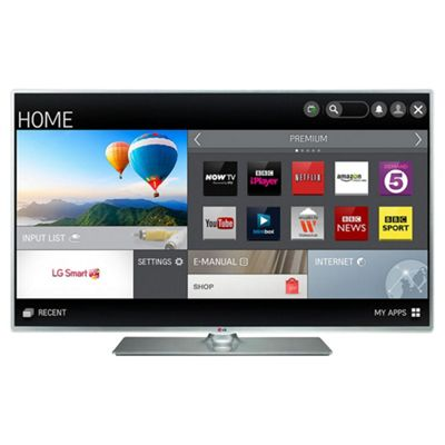 LG 55LB580V 55 Inch Full HD Freeview HD Smart LED TV with built in Wi-Fi
