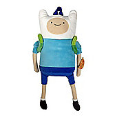 Adventure Time Kid's Finn Character Plush Backpack (bp171087adv) - Accessories