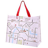Puckator London Map Shopping Bag