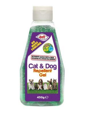 Doff Cat & Dog Garden Repellent Gel - Easy Squeeze Bottle- 1 Litre