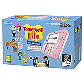 Nintendo 2DS Pink Console with Tomodachi