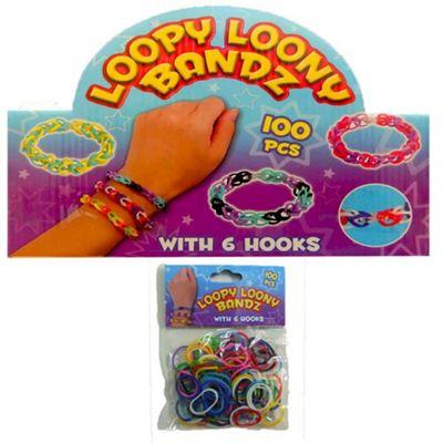 Loopy Loony Bandz Bracelet Maker 100 Pieces