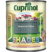 Cuprinol Garden Shades - Beaumont Blue - 1 Litre