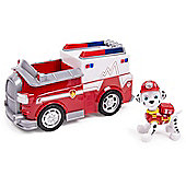 Paw Patrol Vehicle and Pup - Marshall