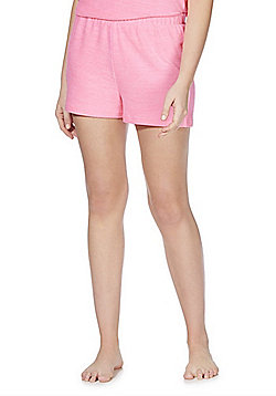 F&F Soft-Touch Lounge Shorts - Pink