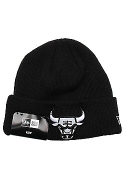 New Era Cap Co Infant Reflect Cuff Beanie - Chicago Bulls - Black