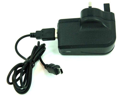 U-bop PowerSURE Rapid MAINS House Charger And USB Charging Cable - Mini USB - 3: e.g. INQ Chat 3G INQ Mini 3G INQ1 Skypephone Skypephone S2 etc.)