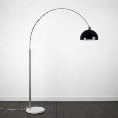 MiniSun Miron Combed Ceramic Table Lamp - Black
