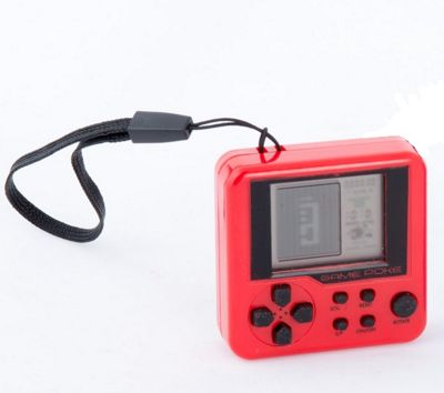 Funtime Gifts Micro Bricks Arcade Game - Red Play Fun Toy