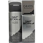 David & Victoria Beckham Beyond Forever Gift Set 40ml EDT + 150ml Deodorant Spray For Men