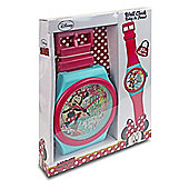 Jumbo Minnie Mouse Wall Clock Watch