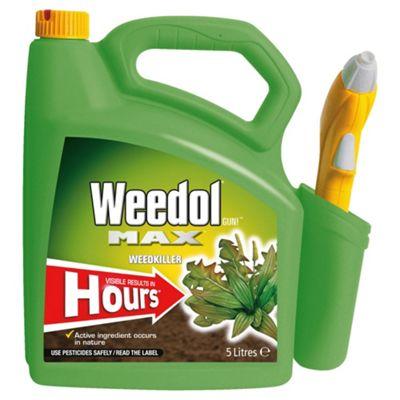 Weedol Max Super fast weedkiller 5L