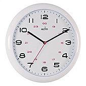 Acctim 92/301-24 Wall Clock - White
