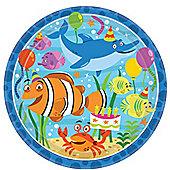 Ocean Buddies Plates - 23cm Paper Party Plates