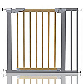 Safetots Beechwood and Metal Pressure Fit Gate 83.7 - 91.1cm