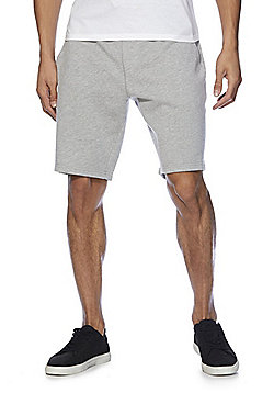 F&F Drawstring Jersey Shorts - Grey