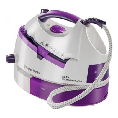 Russell Hobbs 20330 Steam Generator Iron 2800 watts White and Purple