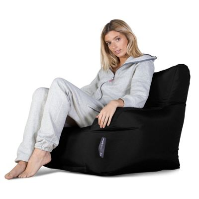 Big Bertha Original™ Indoor / Outdoor Armchair Bean Bag - Black