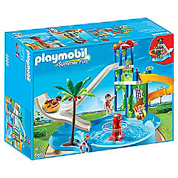 Playmobil 6669 Summer Fun Water Park with Slides