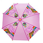 Peppa Pig 'Cosmic' Gold Nylon Umbrella