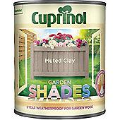 Cuprinol Garden Shades - Muted Clay - 1 Litre