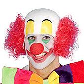 Smiffy's - Clown Rubber Top Wig