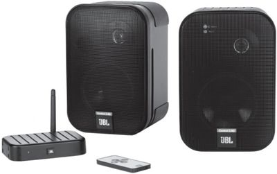 buy jbl on air control 2 4g wireless speakers pair from our all speakers range tesco. Black Bedroom Furniture Sets. Home Design Ideas