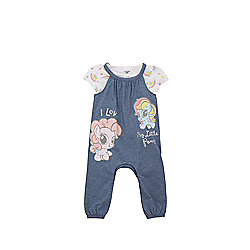 Hasbro My Little Pony T-Shirt and Dungarees Set - Multi