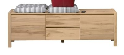 Oestergaard Mille Low Chest of Drawers 159cm - Heartwood Beech solid