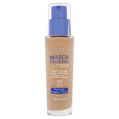 Rimmel Match Perfection Foundation Soft Beige