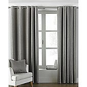 Riva Home Atlantic Eyelet Curtains - Grey