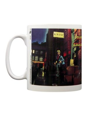 David Bowie Ziggy Stardust White 10oz Ceramic Mug