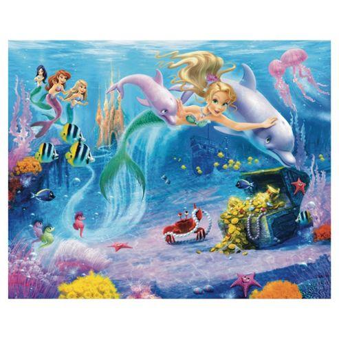 Mermaids Wallpaper Mural 8ft x 10ft