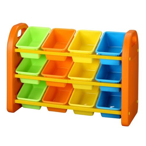 Liberty House Toys Twelve Bin Storage Organiser